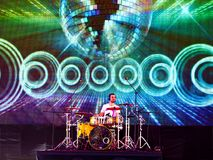 Free Drummer At The Concert Royalty Free Stock Image - 27465376