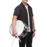 Drummer. Royalty Free Stock Photography