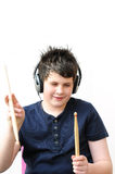 Drummer boy Stock Images