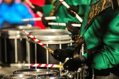 Drummer boy with drummer sticks Stock Image