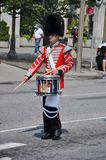 Drummer in Changing of Guard, Ottawa Royalty Free Stock Photo