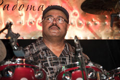 Drummer - Dennis Chambers Royalty Free Stock Photos