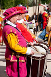 Drummer in In Guardia Parade Stock Image