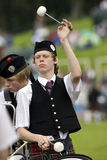 Drummer -  Highland Games - Scotland Royalty Free Stock Photography