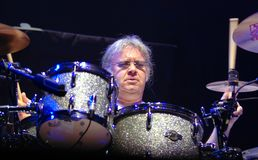 Drummer Ian Paice. Deep Purple. Royalty Free Stock Photography