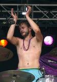 Drummer, Iwan Dubrowski applauding Stock Photos
