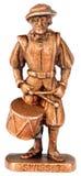Drummer miniature statuette Stock Image