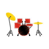 Drummer music instrument Royalty Free Stock Photo