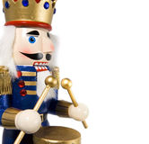 Drummer nutcracker Stock Photography