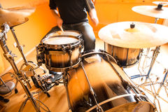 Drummer Royalty Free Stock Image