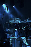 Drummer performing on stage Royalty Free Stock Photo