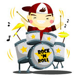 Drummer Stock Photography