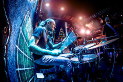 Drummer Royalty Free Stock Photo
