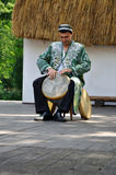 Drummer, Rhytms of Uzbekistan Royalty Free Stock Images