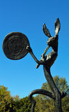 The Drummer Sculpture Beverly Hills California Royalty Free Stock Images