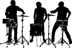 drummers royalty illustrazione gratis