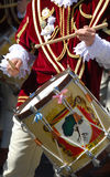 Drummers And Trumpeters Of Oristano Stock Photos