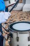 Drummers in the band Stock Image