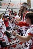 Drummers from Batala Banda de Percussao Stock Photography