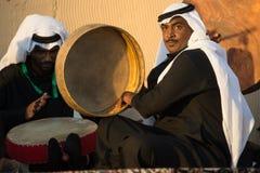 Drummers at Janadriyah Festival, Riyadh Royalty Free Stock Photography
