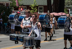 Drummers at Mohawk Valley Parade Royalty Free Stock Image
