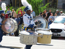 Drummers at the Parade Royalty Free Stock Photography