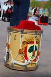 Drummers and trumpeters of Oristano Stock Image