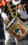Drummers and trumpeters of Oristano Royalty Free Stock Images