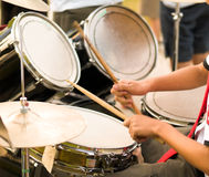 Drumming Royalty Free Stock Image