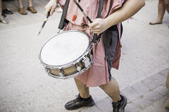 Drumming in the city Stock Images