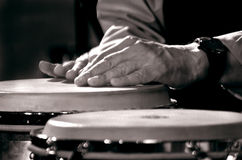 Drumming Royalty Free Stock Photos