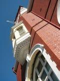Drummond Street Building. Building on the corner of Pelham Street and Drummond Street, Carlton, Melbourne, Australia stock photography