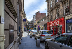 Drummond Street, Inverness, Scotland Stock Photos