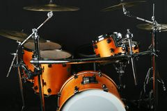 Drumms on a stage Stock Images