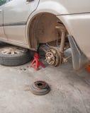 Drump brake repairing Royalty Free Stock Photography