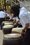 Drump degli studenti Fotografie Stock Libere da Diritti