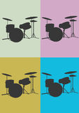 Drums. A  illustration of drums Stock Photo
