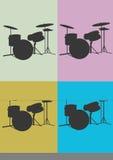 Drums. A illustration of drums royalty free illustration