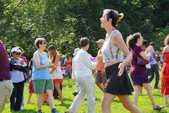 Drums Along The Hudson 2015 85 Stock Image