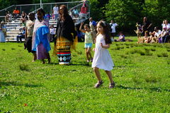 Drums Along The Hudson 2015 Part 3 68. DRUMS ALONG THE HUDSON® features Manhattan's only open air pow wow, which is a celebratory gathering of Native American Royalty Free Stock Photography