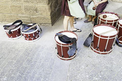 Drums band music Stock Photos