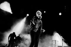 The Drums band performs at San Miguel Primavera Sound Festival Stock Photos