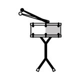 drums battery isolated icon Royalty Free Stock Photo