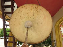 Drums, bells The sound of symbols ... `Buddhist Way - Thai Way` Stock Image