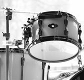 Drums. Closeup drums in black and white Royalty Free Stock Image