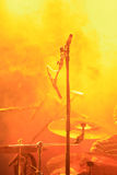 Drums with colorful, foggy background Stock Photography