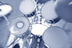 Drums conceptual image. Abstract photo of drums Royalty Free Stock Photos