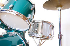 Drums conceptual image. Drums on isolated background Royalty Free Stock Images