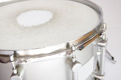 Drums conceptual image. Approximation of snare Stock Images