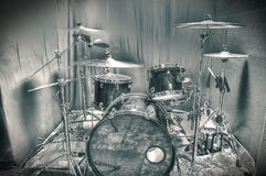 Drums conceptual image. Royalty Free Stock Image